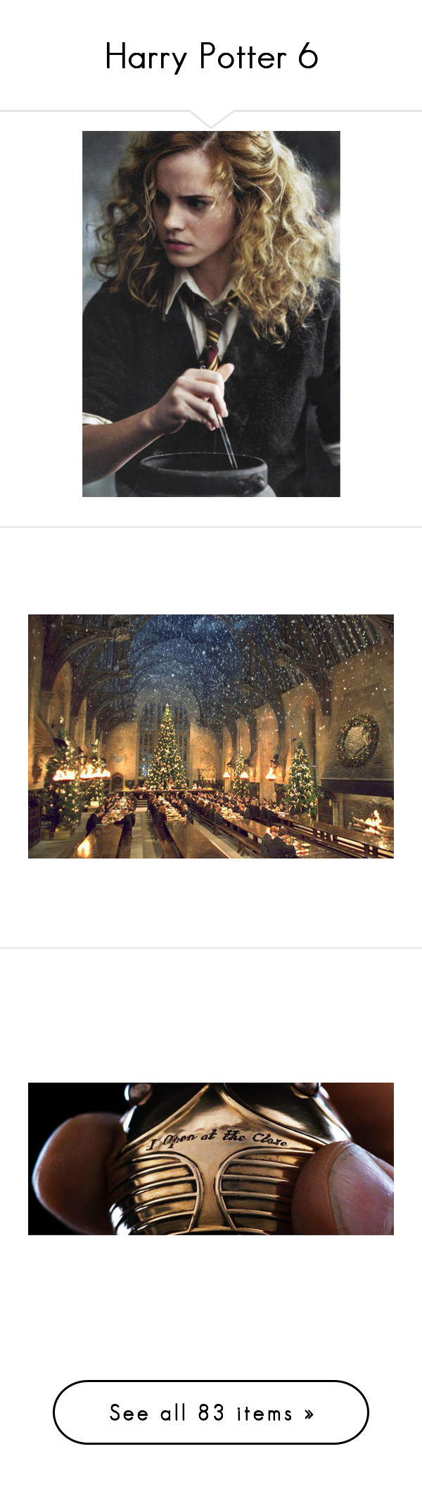 """Harry Potter 6"" by charmedgreys ❤ liked on Polyvore featuring harry potter, emma watson, backgrounds, hogwarts, pictures, brown, other, brown pictures, gryffindor and people"