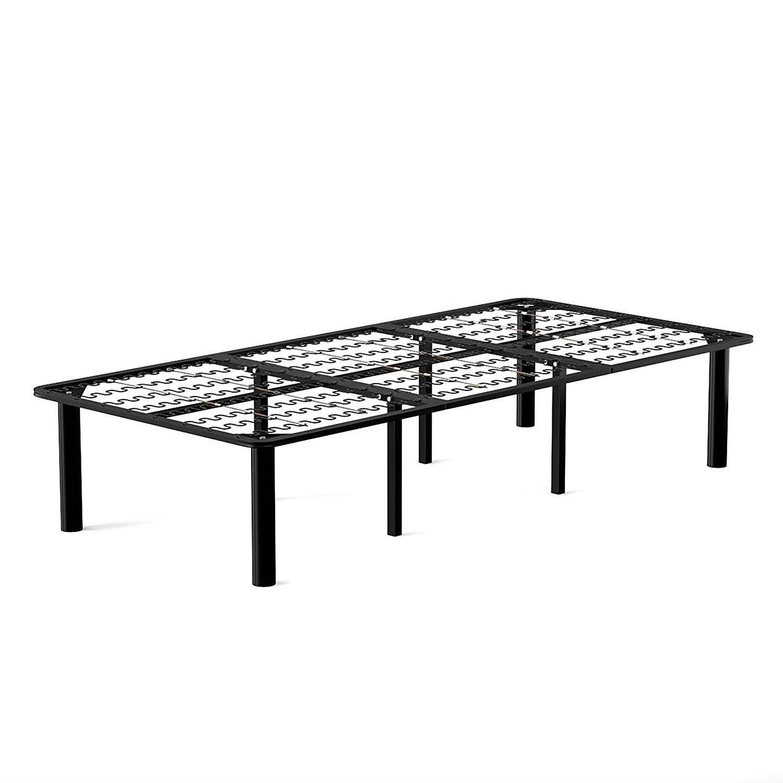 Twin XL Heavy Duty 8-Leg Metal Bed Frame Platform