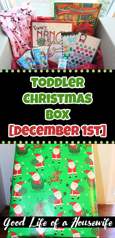 Christmas Box for Toddlers 25 Days of Christmas | Toddler christmas gifts, Christmas eve box ...