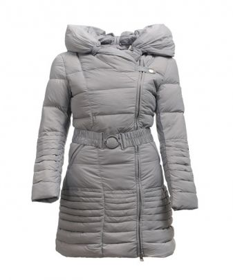 moncler grey womens coat