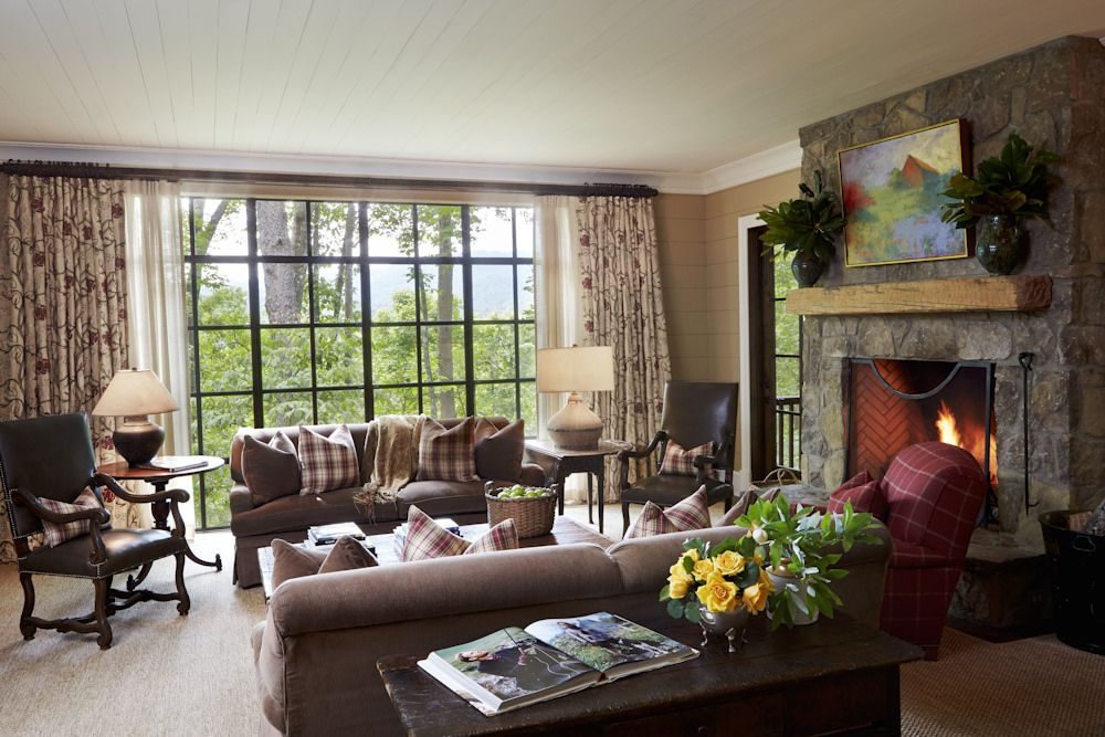 Blackberry Farm A Luxury Hotel And Resort Situated On A Pastoral 4 200 Acre Estate In The Grea Blackberry Farm Tennessee Modern Classic Interior Living Spaces