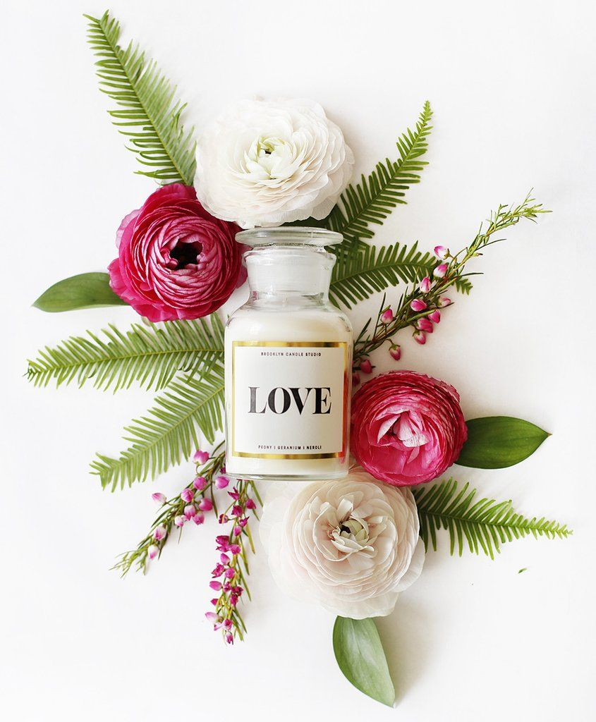 LOVE Apothecary Coconut Wax Candle
