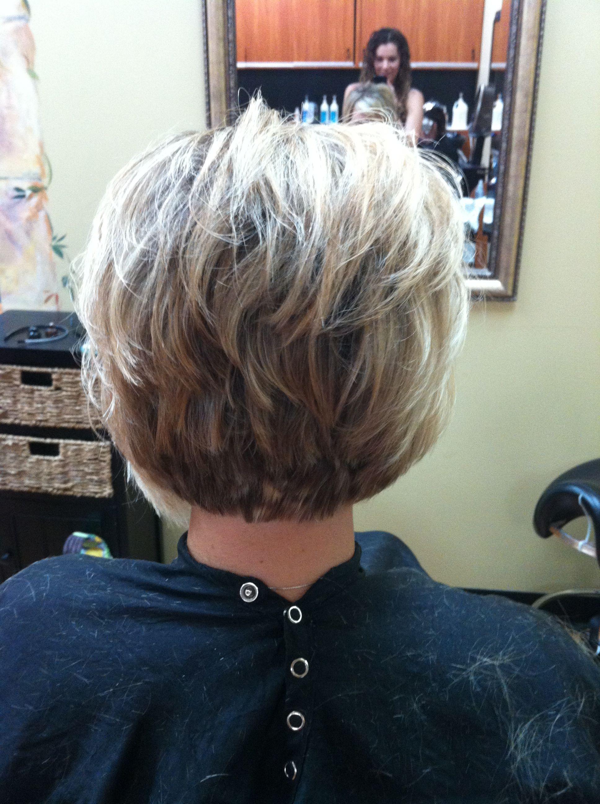 stacked bob   hair by lindsey larson @ shear performance