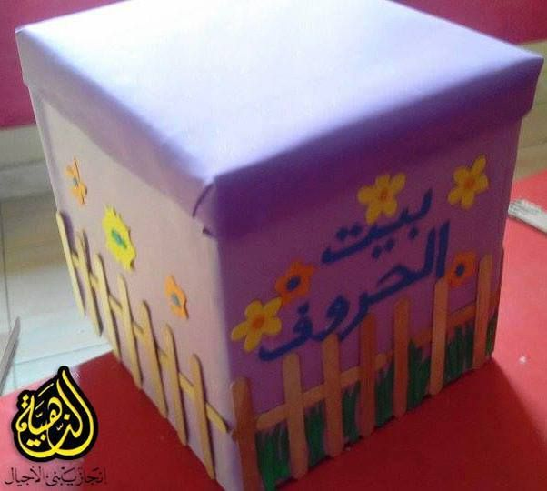 لعبة صندوق بيت الحروف ضعى جميع الحروف بداخل الصندوق ثم اطلبى من الطفل وضع يده داخل الصندوق ويس Arabic Alphabet For Kids Learning Arabic Alphabet For Kids