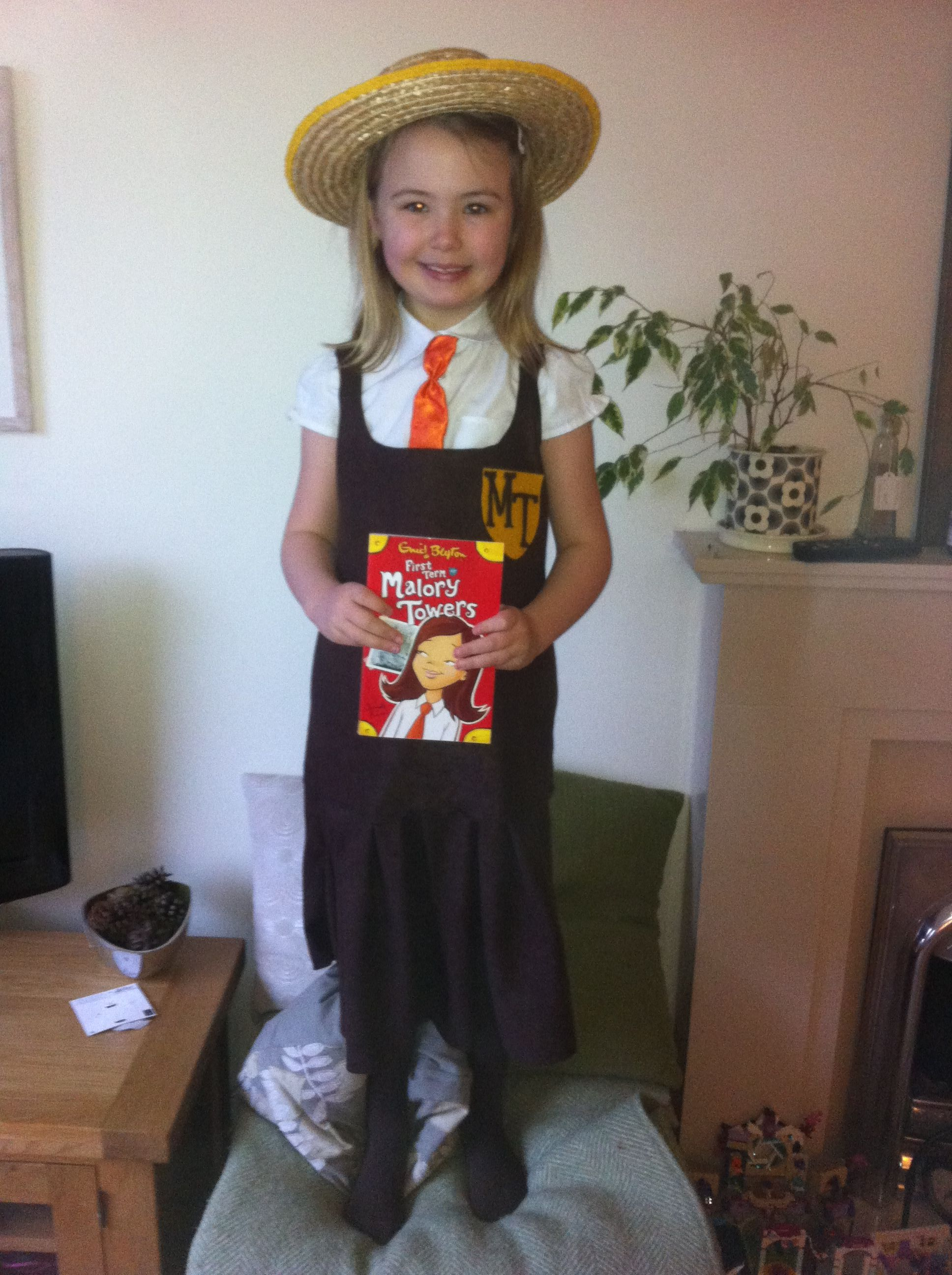 Girls Famous Five Malory Towers Fancy Dress Costume Book Day Outfit
