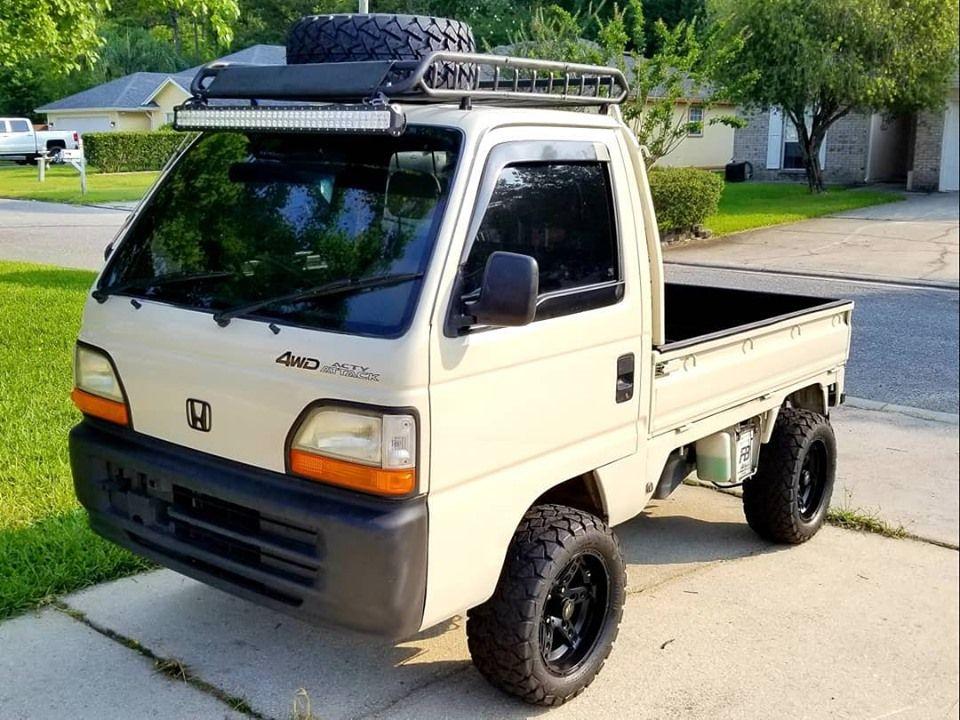 1994 Honda Acty Truck In 2020 Mini Trucks Trucks Mini Trucks 4x4