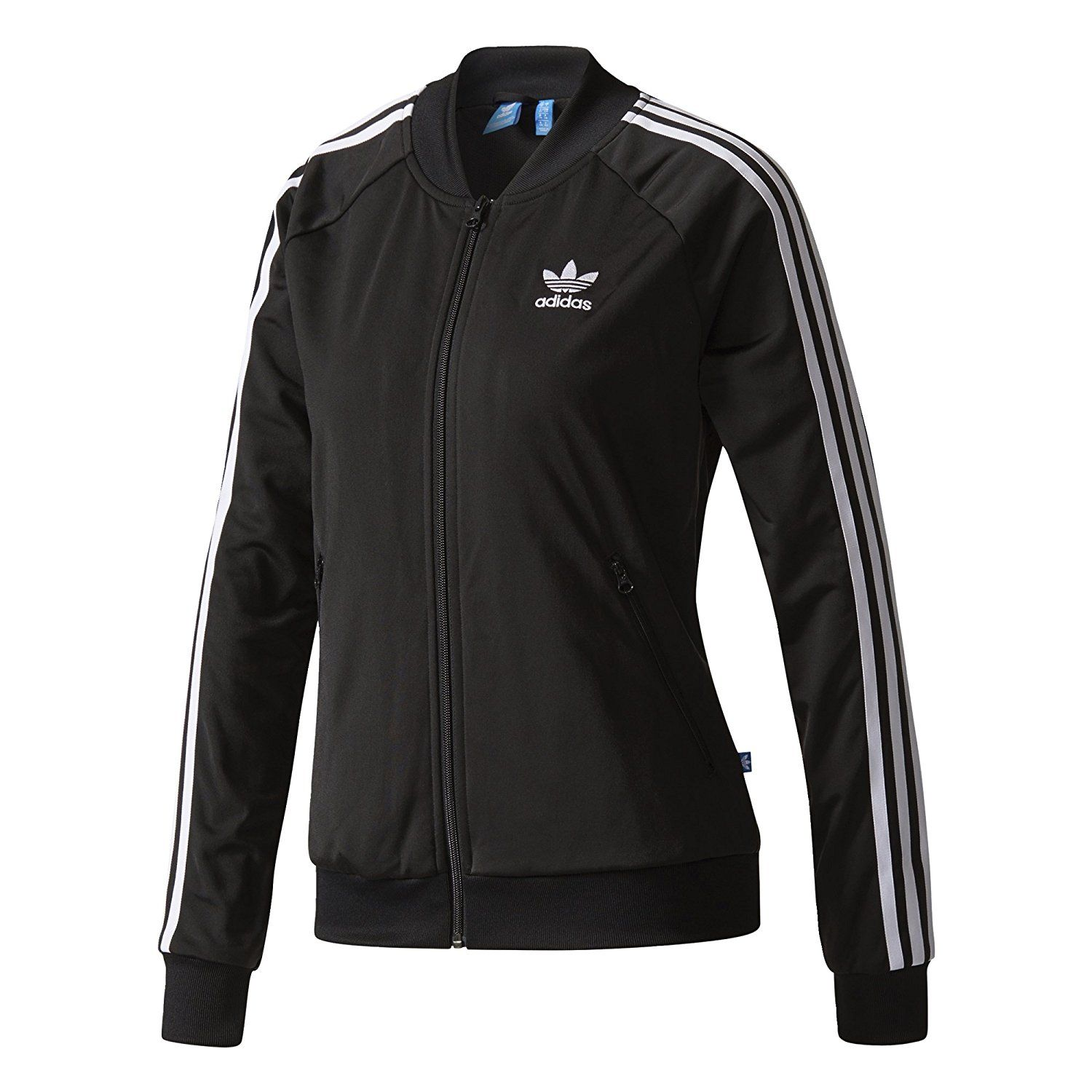 a3c78008cc3 adidas Originals Women s Superstar Track Top at Amazon Women s Clothing  store