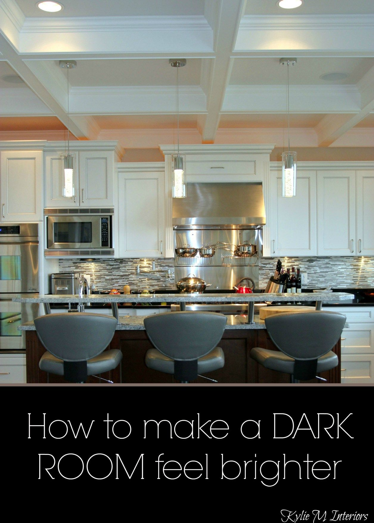 How To Make A Dark Room Bat Or Family Feel Brighter With Lighting Paint And Decor