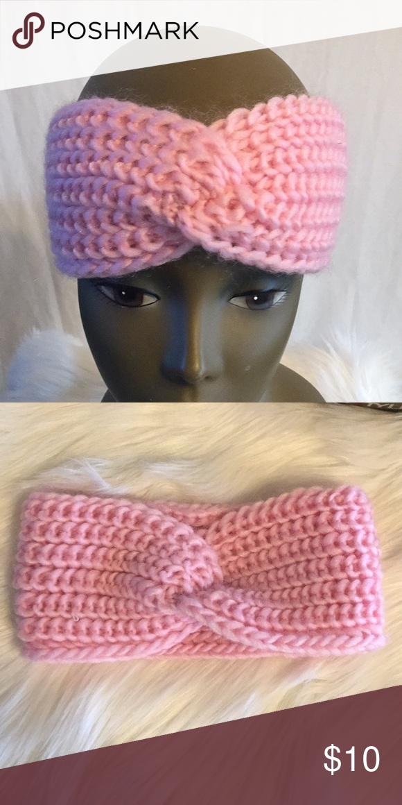 🔴BUY ONE GET ONE FREE Pink Headband Ear Warmer Make the most of your look with this pink soft to the touch knit Headband Ear Warmer 77% Acrylic 20% polyester 2% rubber 1% Spandex #poshmark #headband #earwarmer #passionofessense Passion of Essense Accessories Hats