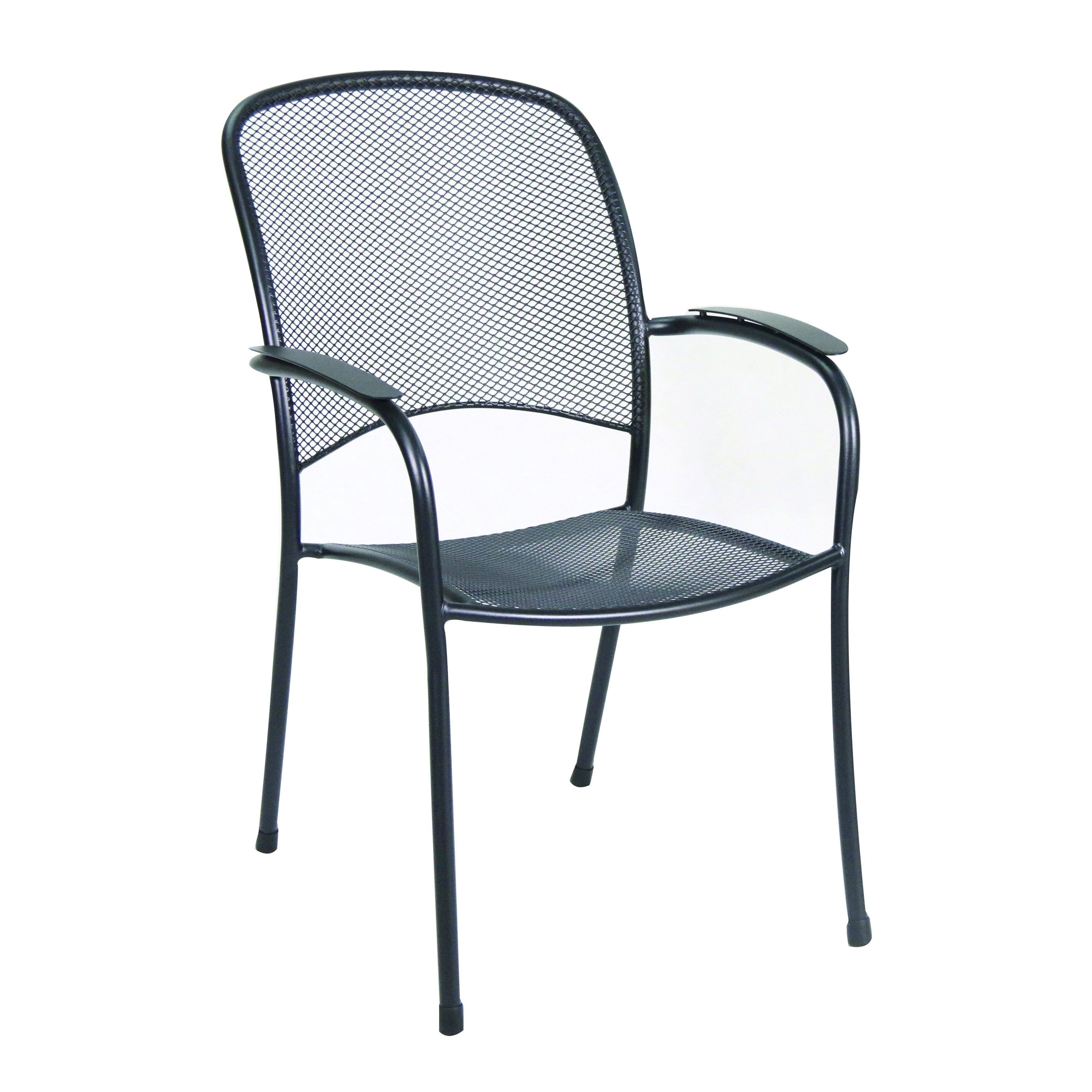 Photo of Richmond 7-Piece Commercial Mesh Dining Set