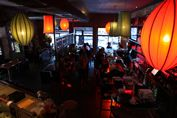 Homebase. Bar at AMBER WEST on Columbus Ave