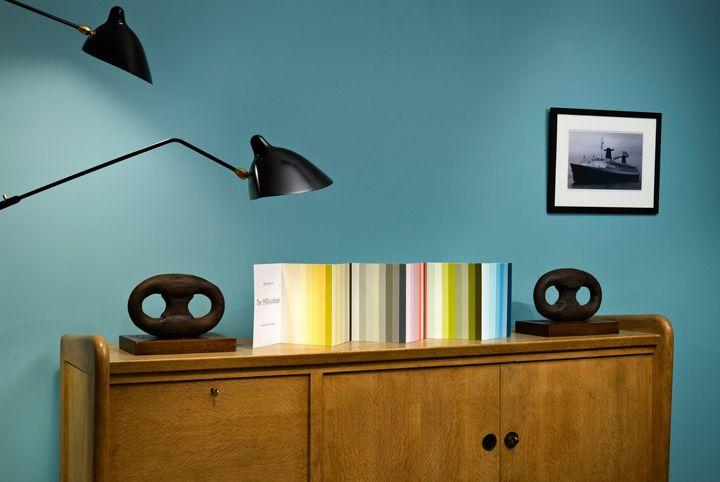 Nuancier 1950's colours Peinture Ressource   Peinture ...
