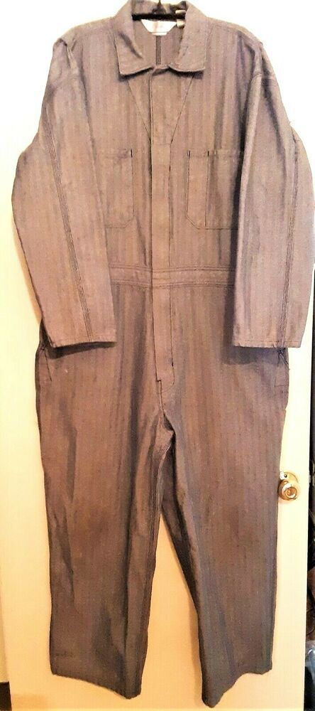 walls master made mens size xls herringbone striped on walls coveralls id=72169
