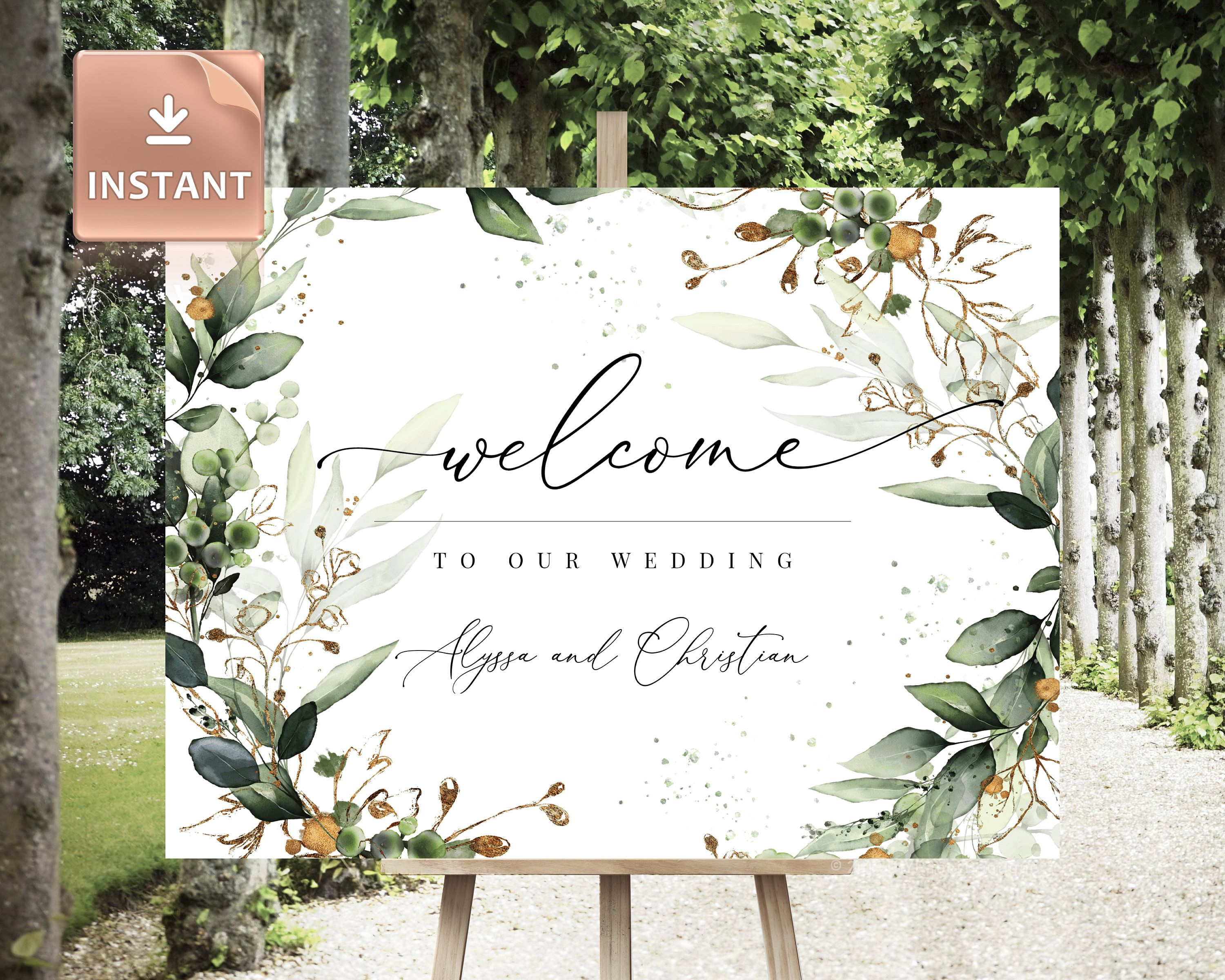 CLEO - Boho Wedding Welcome Sign, Custom Wedding Sign, Porch Welcome Sign, Large Welcome Sign, Welcome Sign, Wedding welcome signage, Sign #weddingwelcomesign