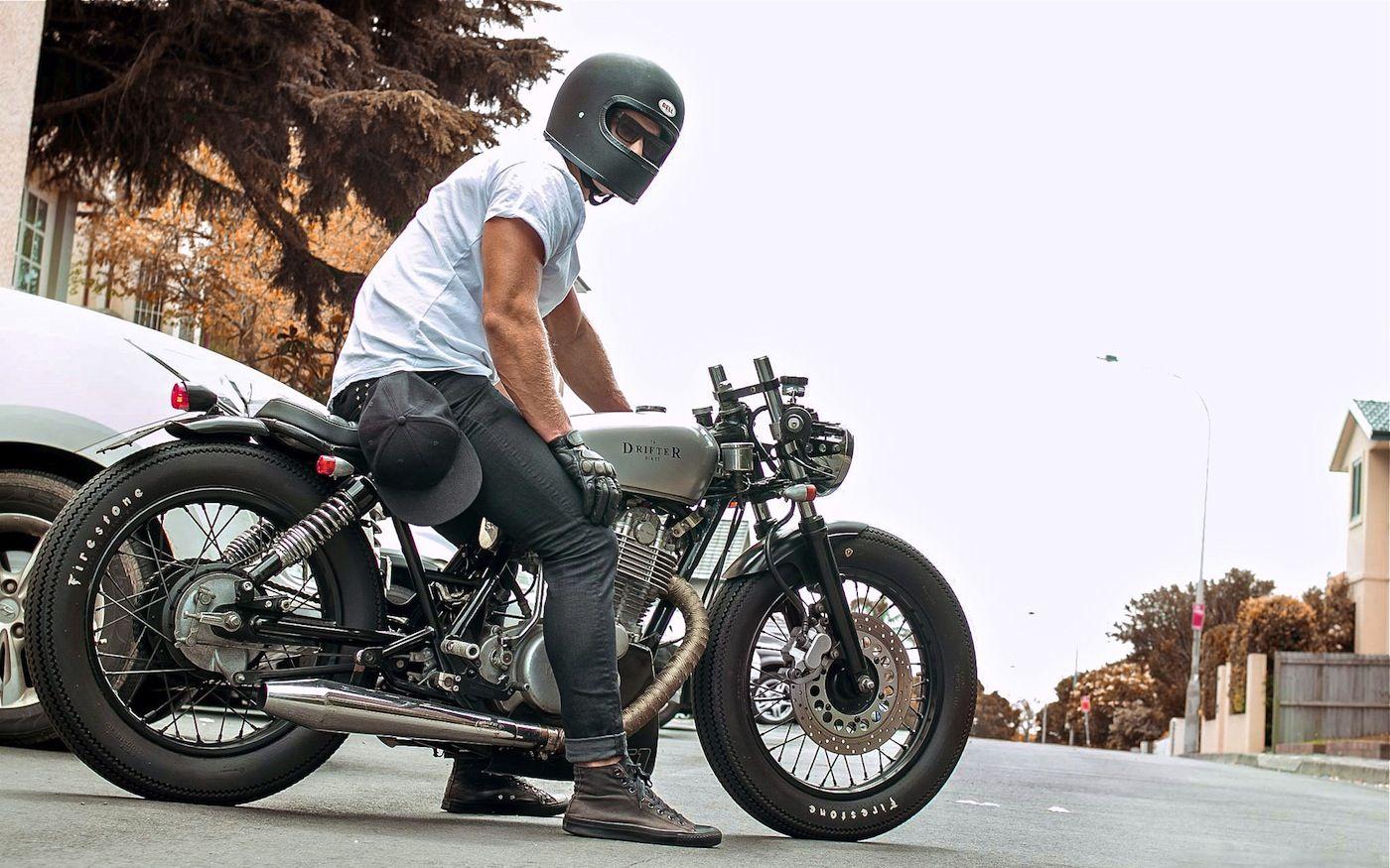 sr400drifter bikes | inazuma café racer | xs650 | pinterest
