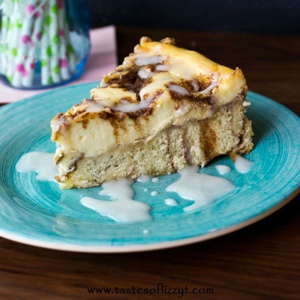 시나몬롤 치즈케이크