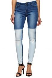 CO gradient skinny jean, MIXED WASH
