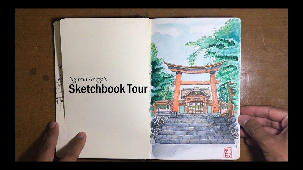 Travel Sketchbook Tour Indonesia Vietnam Cambodia Singapore
