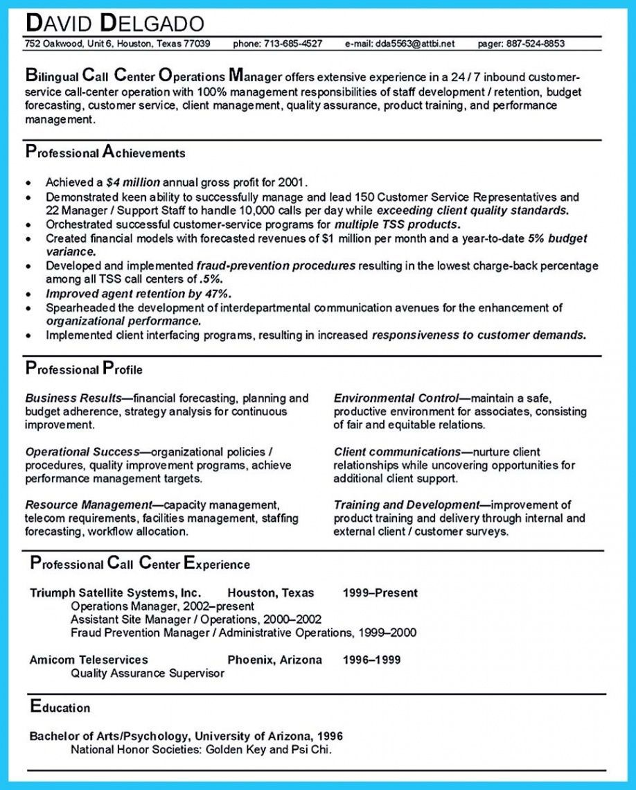 Costum Operations Manager Resume Template Excel In 2021 Operations Management Manager Resume Resume Examples