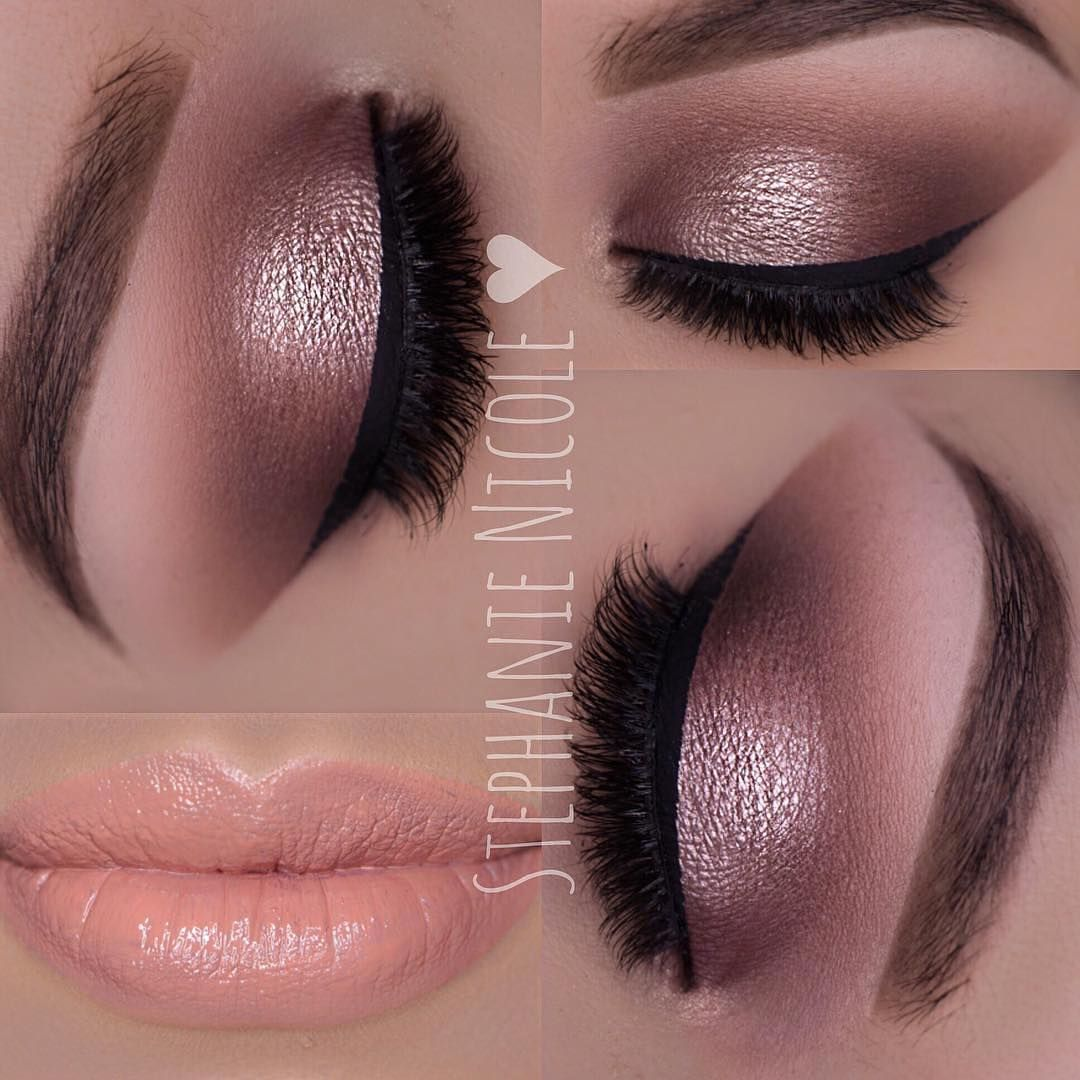 Such a soft and pretty neutral eye by @muastephnicole using our ...