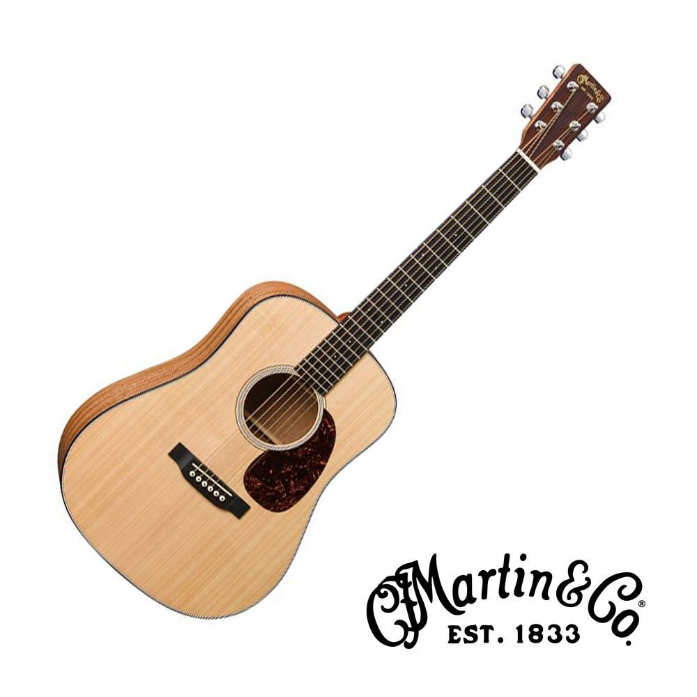 Martin Dreadnought Junior Acoustic Guitar With Gig Bag Acoustic Guitar Guitar Acoustic