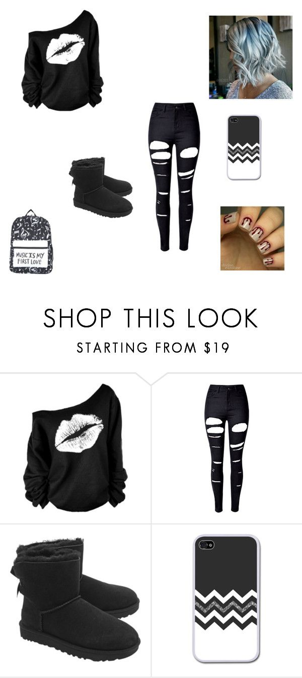 Izabella by queenraina1 on Polyvore featuring WithChic and UGG