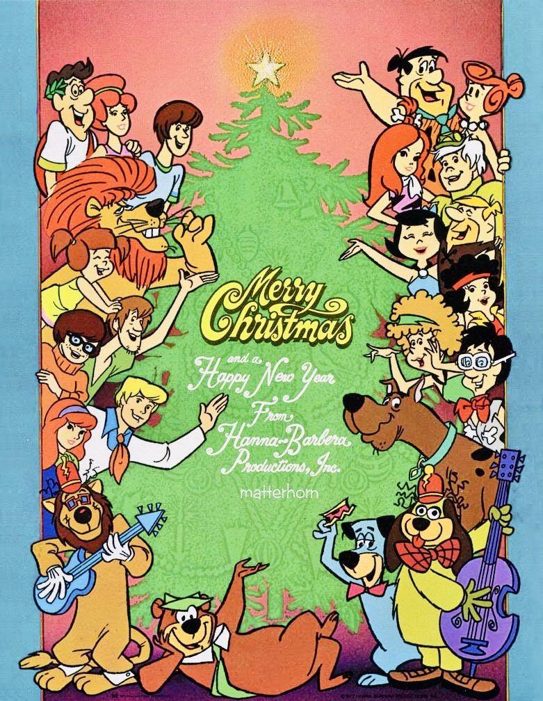 A HannaBarbara Christmas Christmas cartoons, Old school
