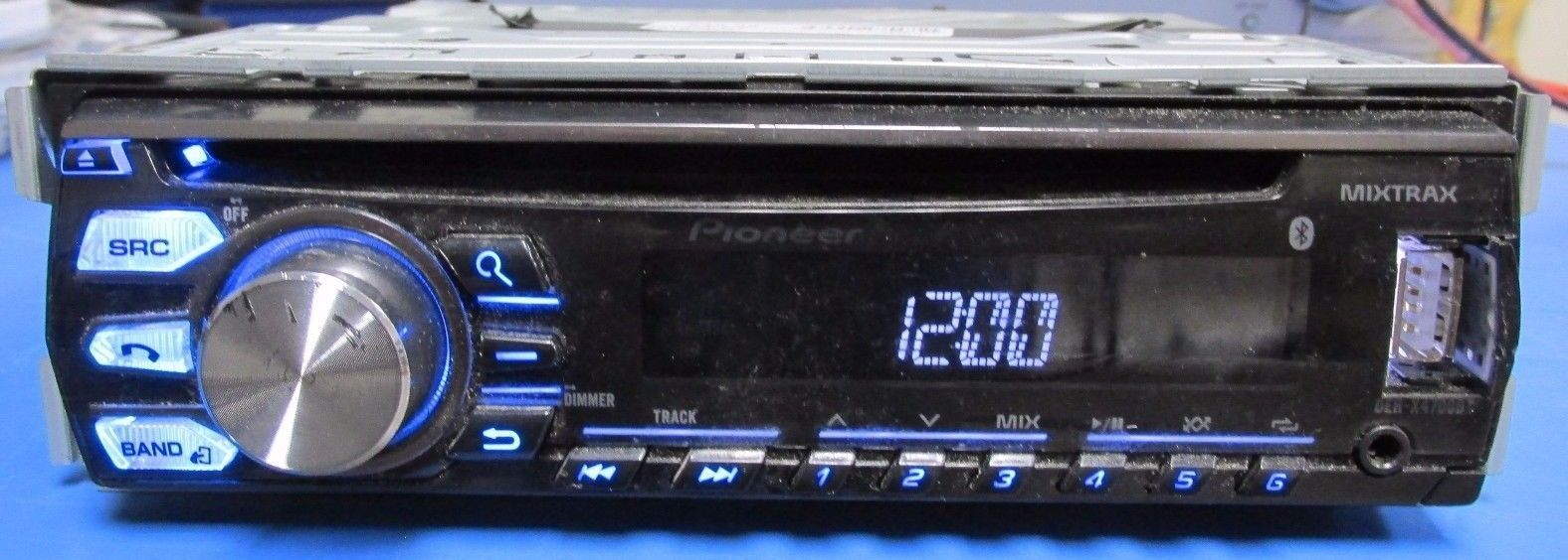 Pioneer DEH-X4700BT CD Receiver Drivers Download