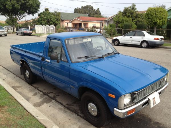 Toyota Truck 1981 With Images Toyota Trucks Toyota Tacoma 4x4 Toyota 4x4