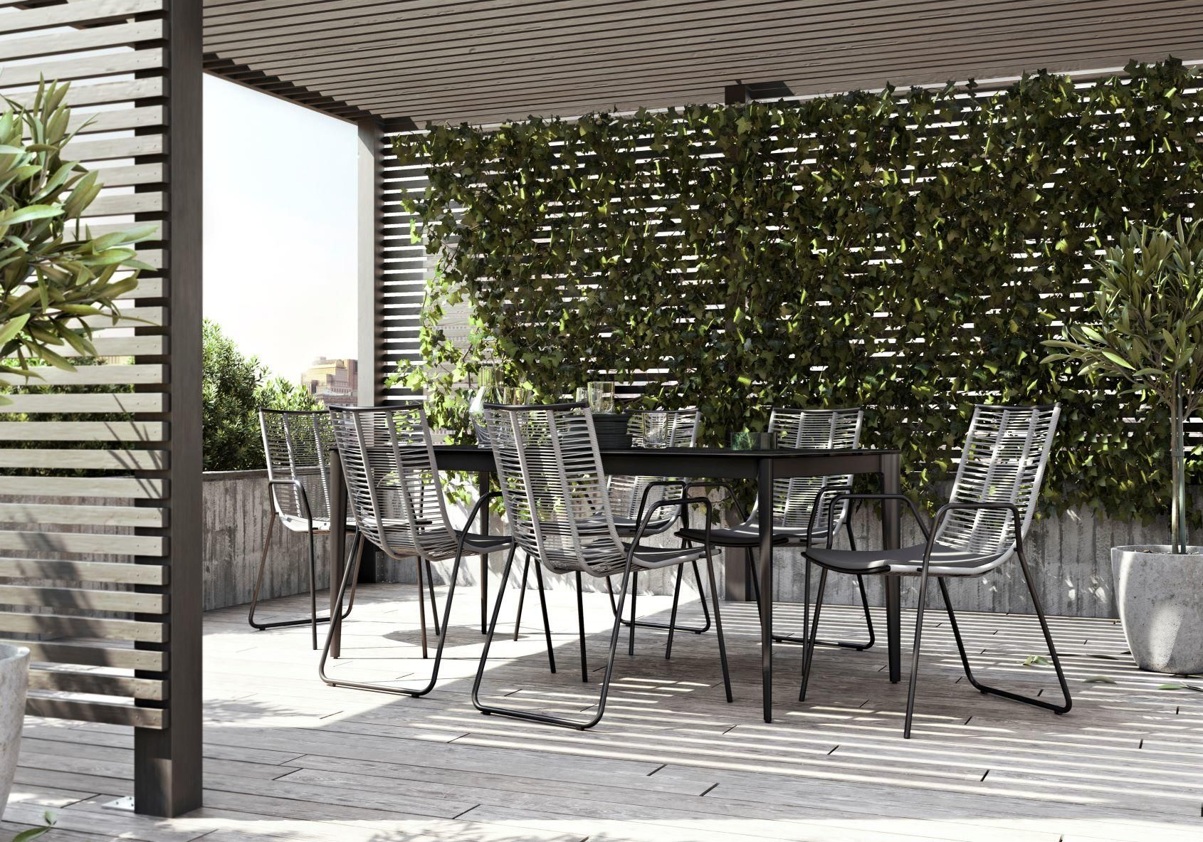 Pin By Namolio On Garden Plants Modern Outdoor Dining Furniture Outdoor Dining Furniture Modern Outdoor Dining