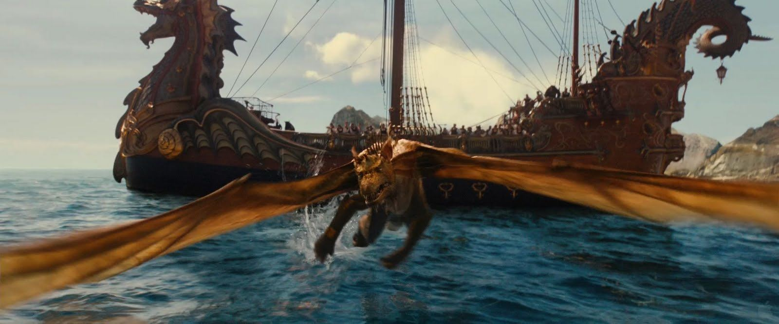 Dawn Treader And Dragon With Images Chronicles Of Narnia