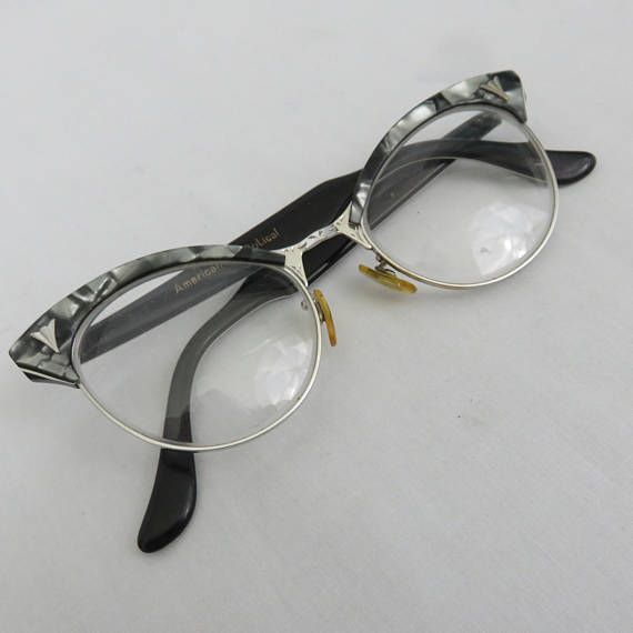 Vintage Mother of Pearl Browline Glasses or Sunglasses by American ...
