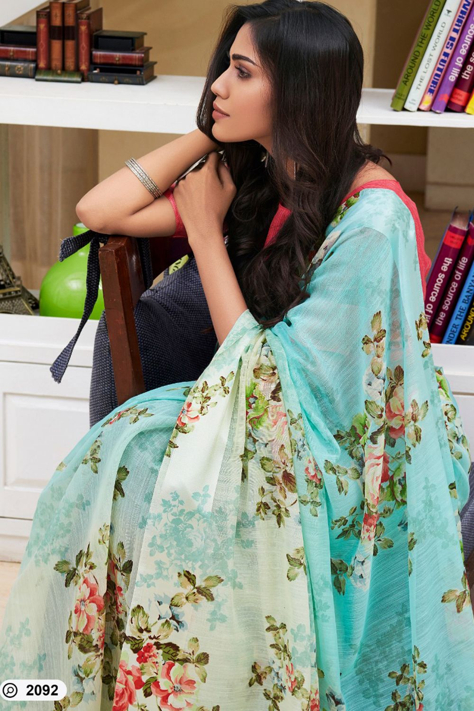 sari,saris Multicolor Original Linen Digital Print Saree and blouse for women,designer saree,bridal saree,wedding saree,saree,saree dress
