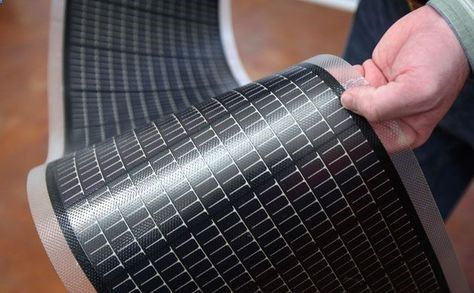 Flexible Solar Cell Sheets Can Go Anywhere And Collect 95 Of Available Solar Energy With Images Solar Technology Solar Cell Diy Solar