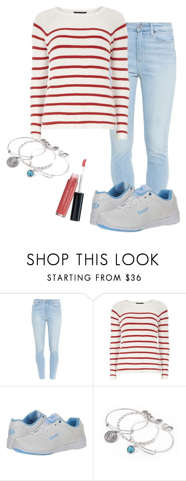 """""""bowling"""" by deliag ❤ liked on Polyvore featuring Paige Denim, Dorothy Perkins, Dexter Bowling, Alex and Ani and Laura Geller"""