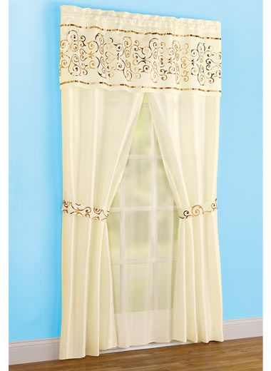 all in one curtain set curtains