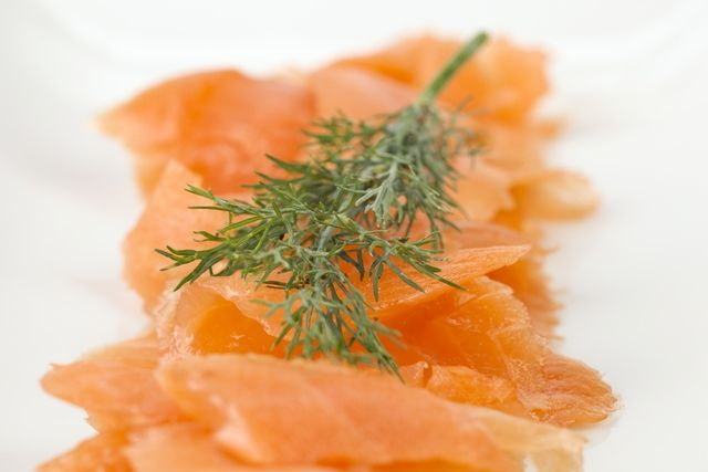 Salmon has long been plugged as being one of the major foods for flawless skin due to the high content of healthy fats, namely Omega 3 fatty acids. Omega 3 is known to reduce inflammation in the skin, decrease clogged pores and keep skin soft and supple