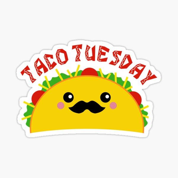 Taco Tuesday Stickers Taco Tuesday Tacos Raining Tacos