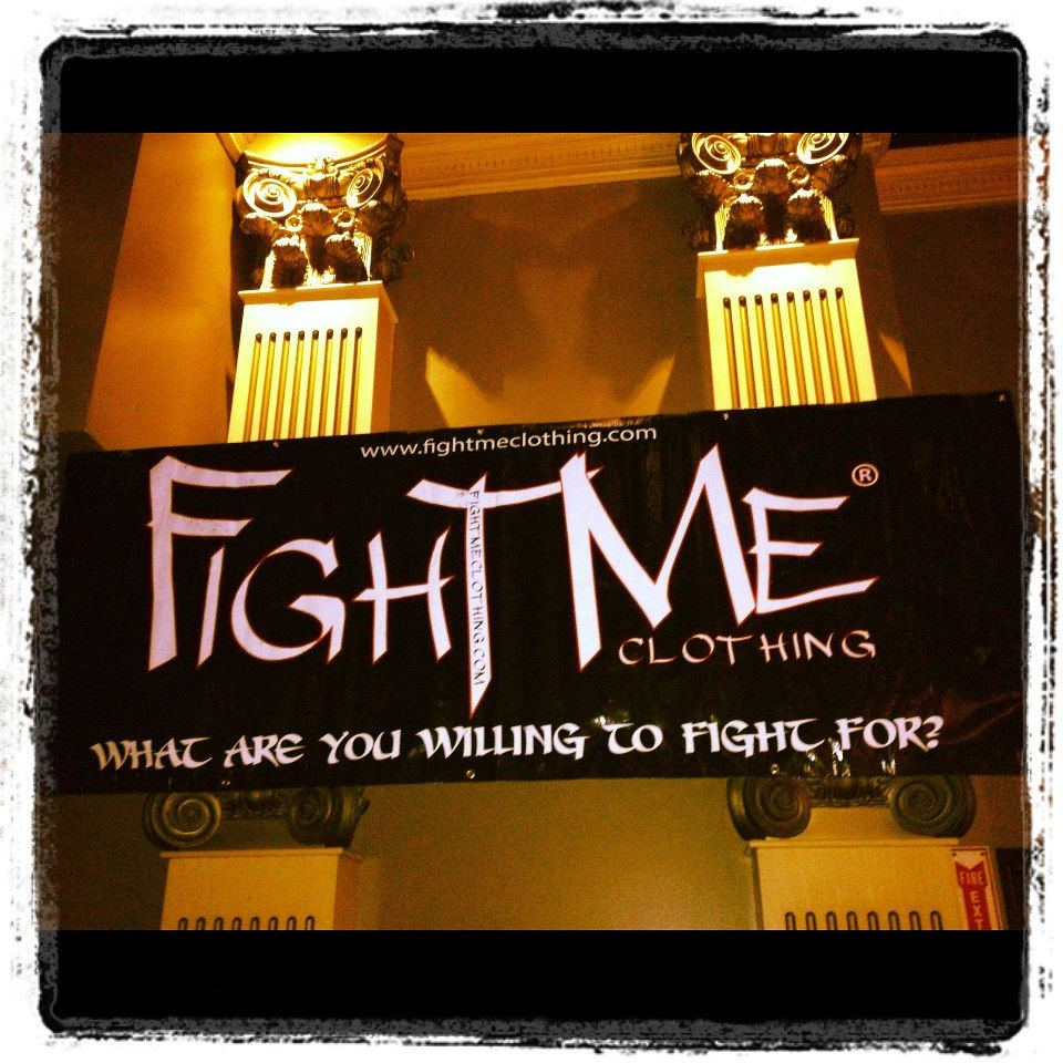 We are happy to welcome Fight Me Clothing to #BullyMMA