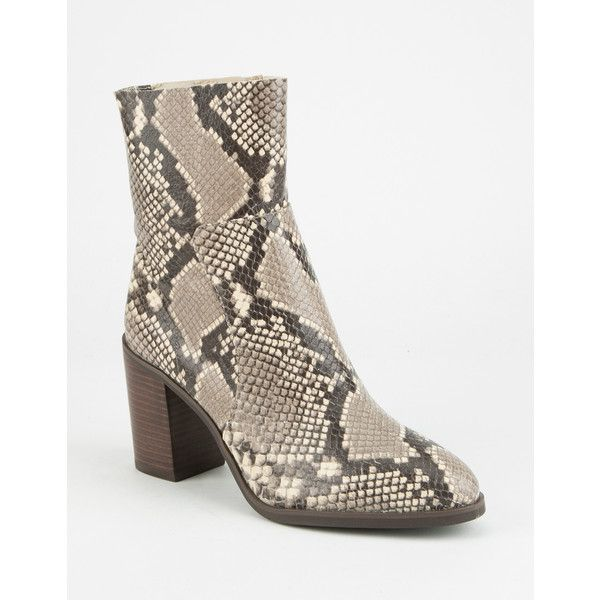 565246852bb Steve Madden W Rewind Boot (3 480 UAH) ❤ liked on Polyvore featuring shoes