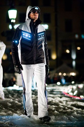 Charge it during the day and shine during the night with this solar LED jacket!!!