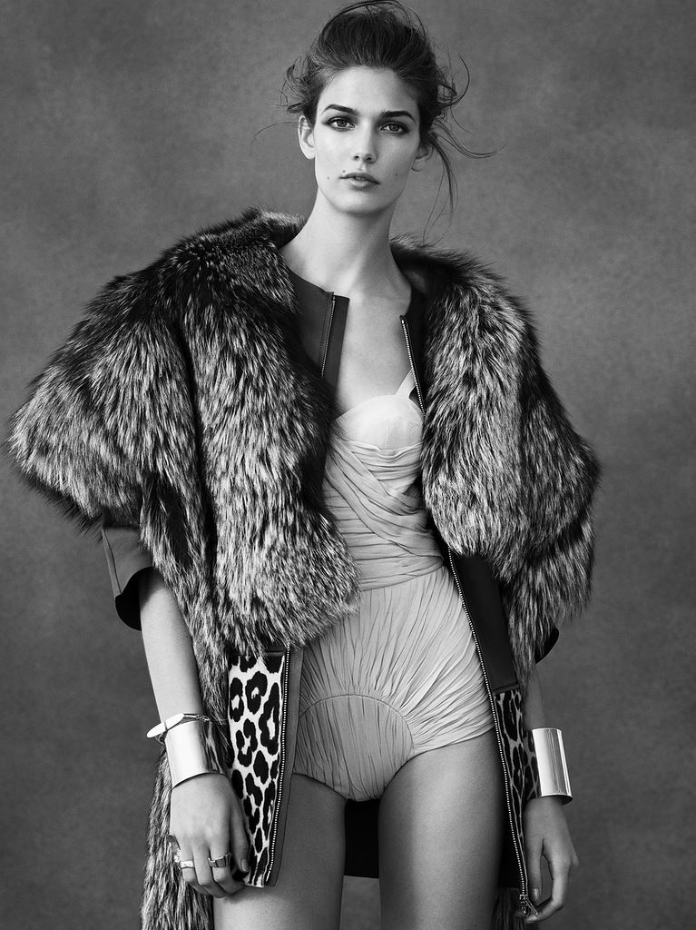 Kendra Spears for Vogue Spain February 2013