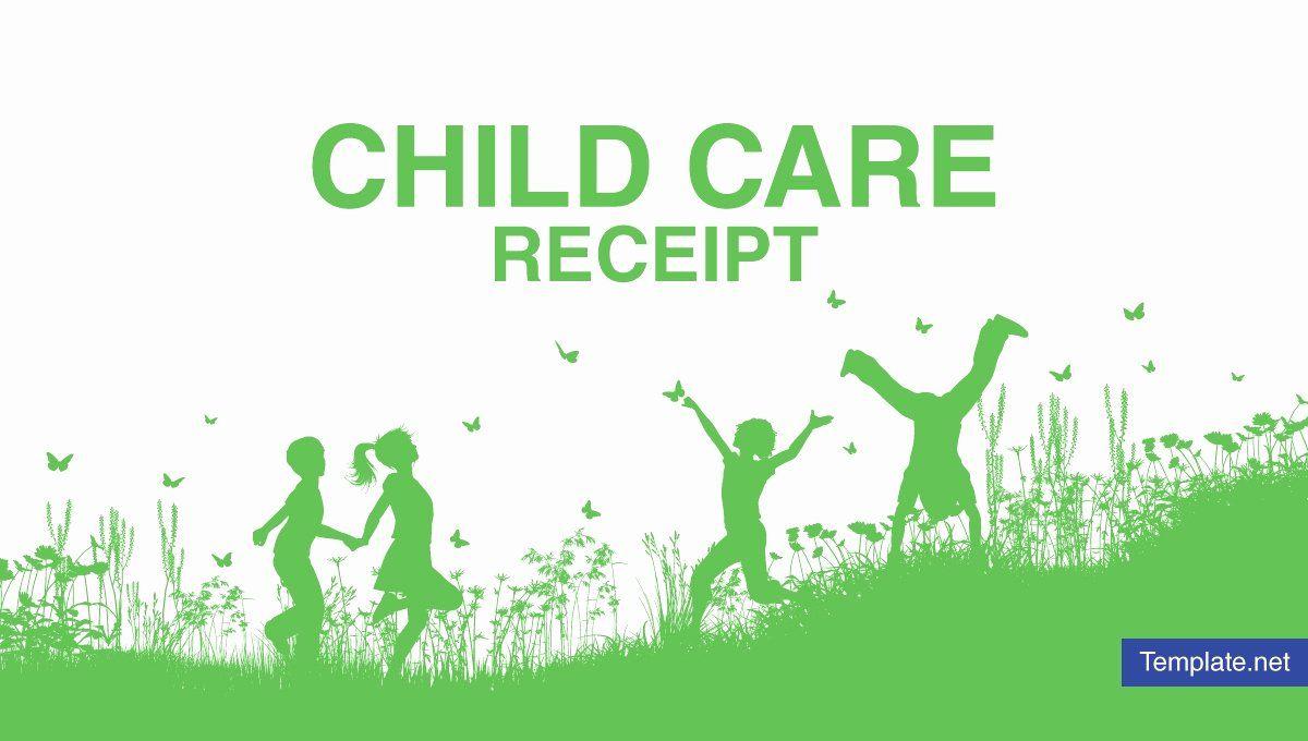 Babysitter Flyer Template Free Fresh 7 Child Care Receipt