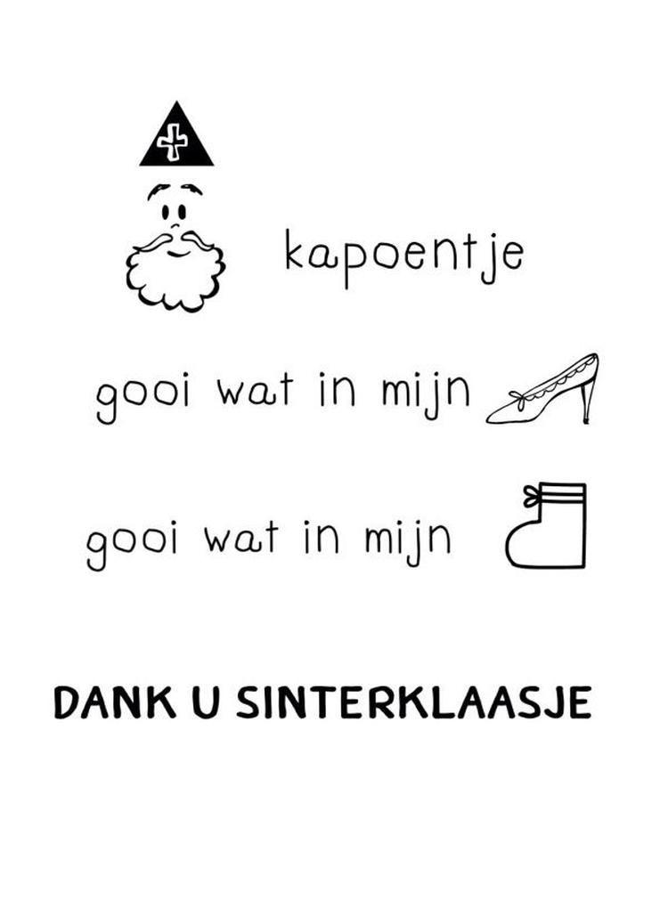 Sinterklaas Kleurplaat 8 Jaar Leuke Sinterklaas Tekst Sinterklaas Vakantie Citaten En