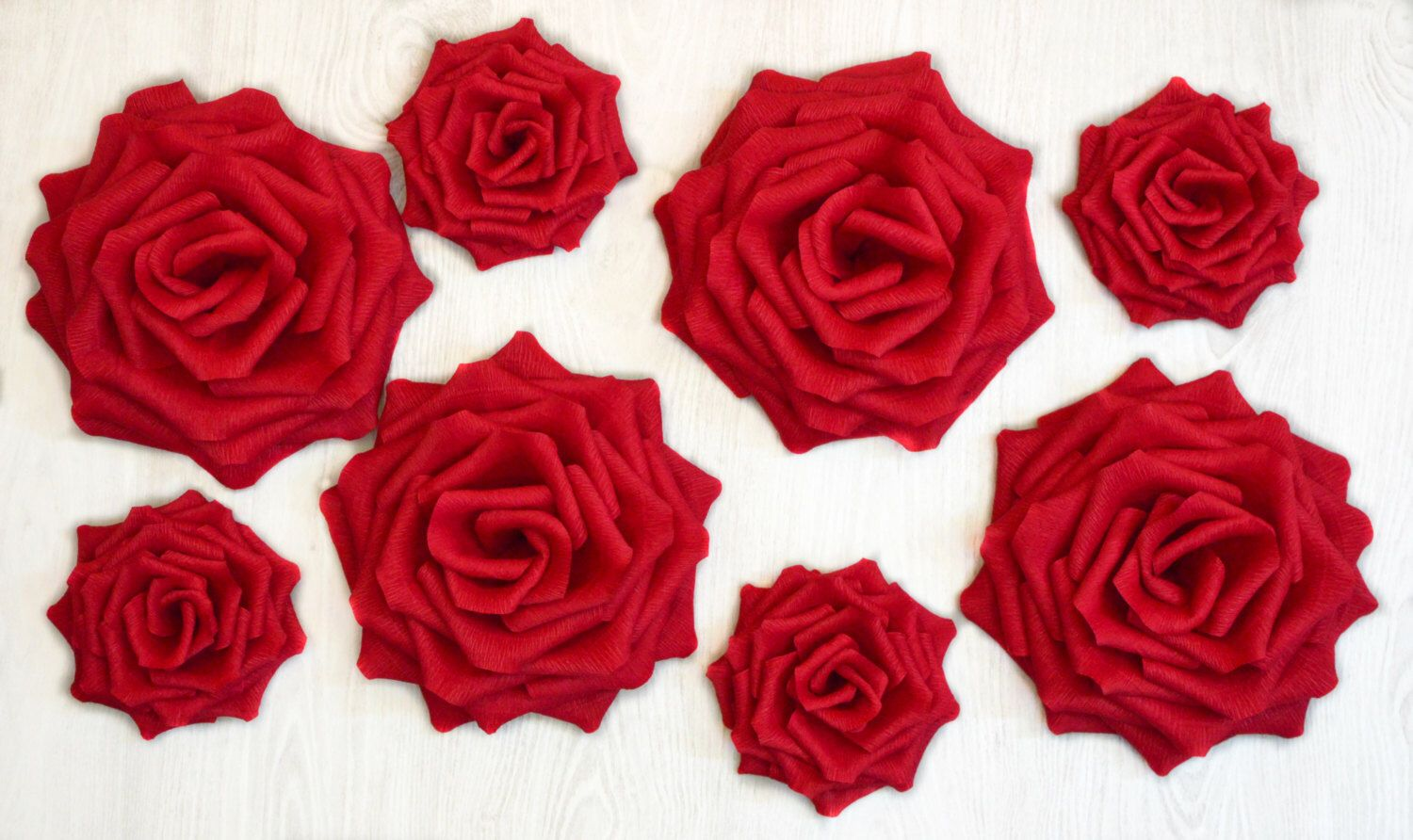 Giant Paper FlowersGiant Paper RosesWedding DecorationArch