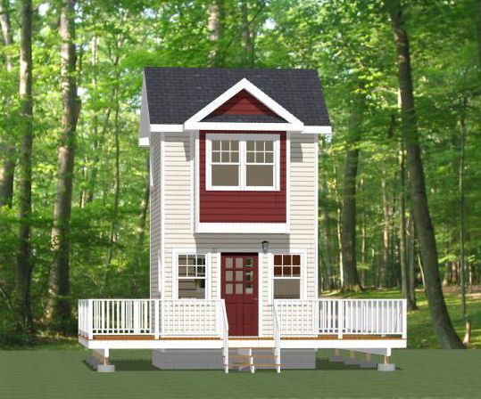 12x12 tiny house 282 sqft pdf floor plan rogers for 12x12 cabin floor plans