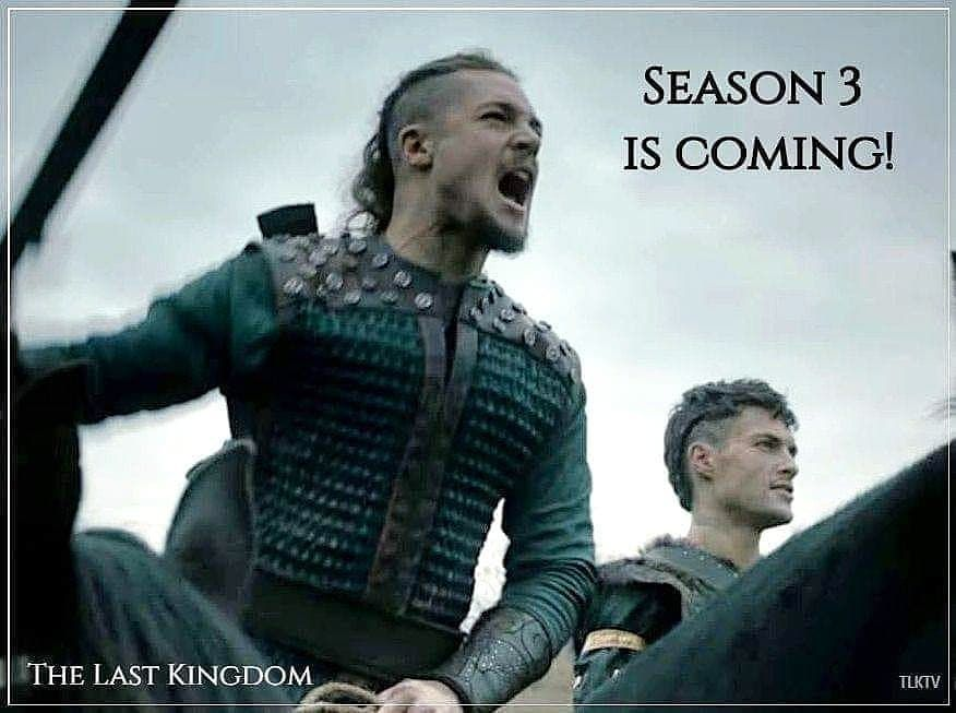 Are You Ready Arselings Season 3 Is Coming Join Us On Facebook Alexander Dreymon Fan The Last Kingdom The Last Kingdom Series Alexander Dreymon