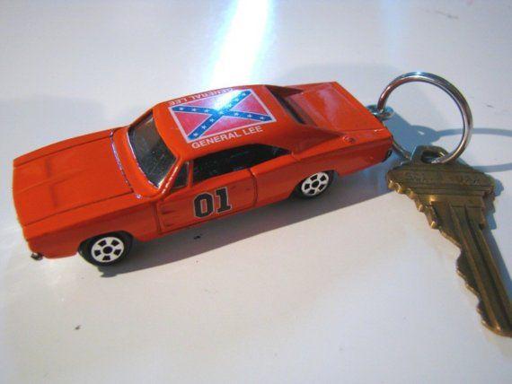Key Chain Keychain DUKES OF HAZARD Repurposed Recycled Matchbox Hot ...