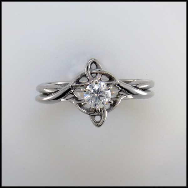 Interlocking Wedding Rings | Interlocking Wedding Set With Diamond In 2018 The Day Every Girl