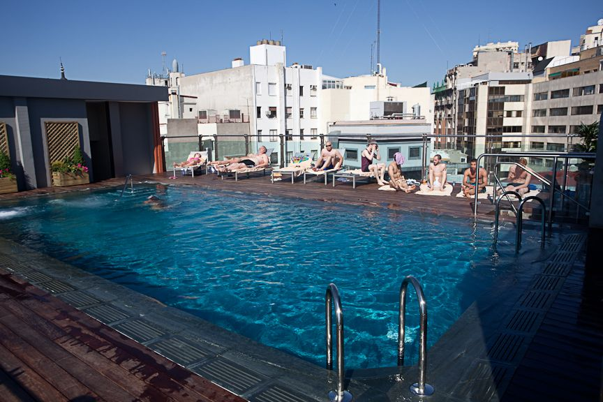 Pin En Azotea Piscina Hotel Santo Domingo Madrid